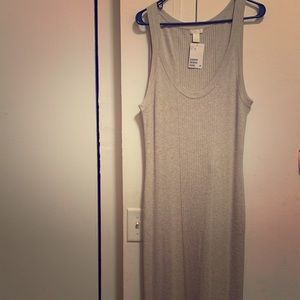 H&M Ribbed Tank Dress XL